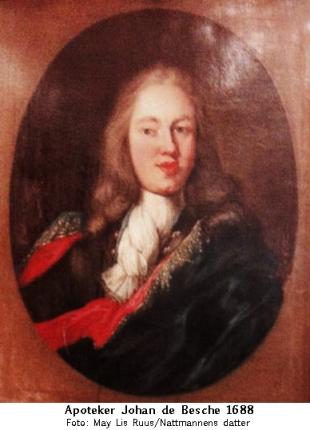 Johan de Besche 1688 (May Lis Ruus)