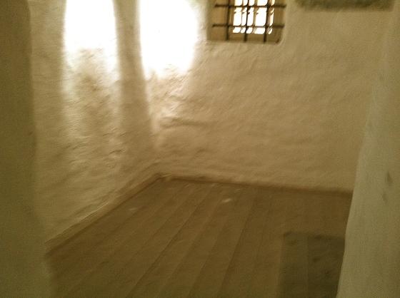 Fangekjelleren i Gamle Rådhus (Foto: MLR)