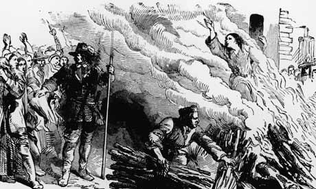 heksebrenning ca. 1692 (fritt)