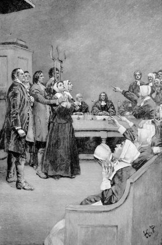 Hekserettsak på 1600-tallet (Photos.com)