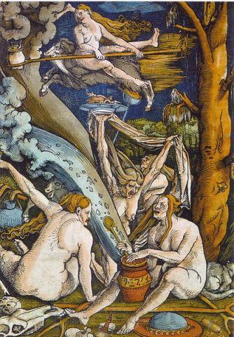 Hexen av Hans Baldung, 1508 (fritt)