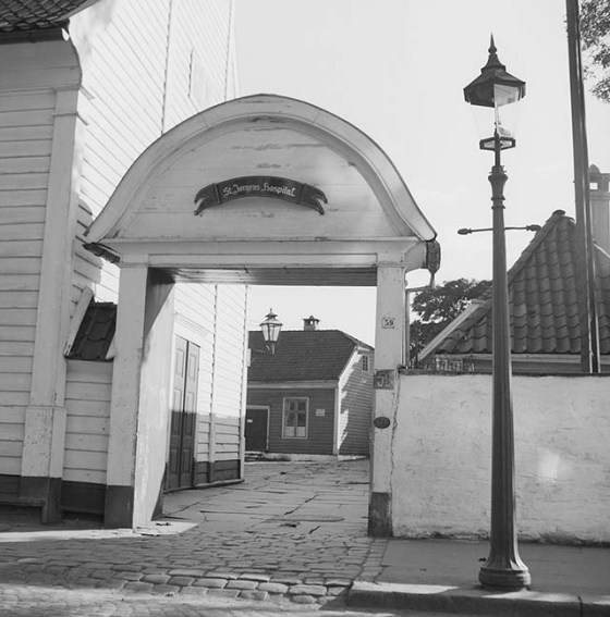 St. Jørgen 1957 (UiB/Gustav Brosing)