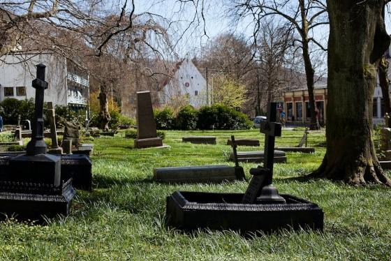 St. Jacobs kirkegård. Fotograf: Silje K. Robinson (gjengitt med tillatelse)