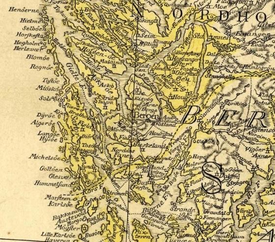 C.J. Pontoppidans Norgeskart