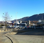 Utsikt til Bergenhus