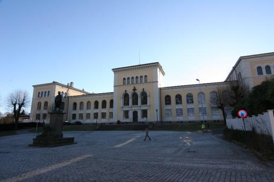 Bergen Museum, De Naturhistoriske samlinger. Museet ble bygget i 1866. (Foto: Nina Aldin Thune. Kilde: Wikipedia, fritt)
