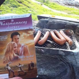 Grilling i Telegrafbukta i Tromsø med Ann Irene