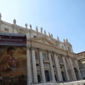 Peterskirken i Roma med Lisbeth