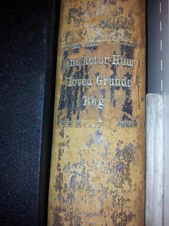 Manufaktur Huus Hoved Grunde Bog (Foto: Hege Christin Eknes)