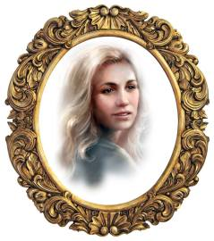 Lucie-portrett