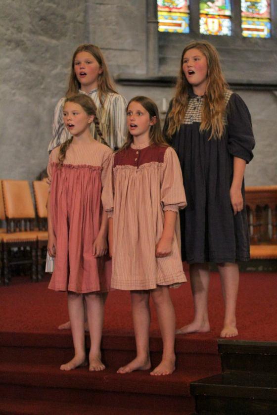 Barnelemmer som sang i Domkirken (Foto: Vibeke Seldal Kristiansen
