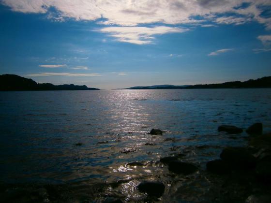 Fra Fanahammeren og utover Fanafjorden (Foto: Ingunn Lausund)