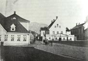 Rådstuplassen på tidlig 1900-tallet