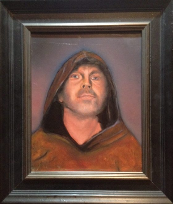 """""""Nattmannen"""", olje på lerret av Bjørn Johs Meidel Hansen, 2014"""