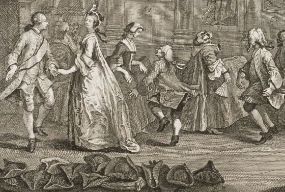 "Utsnitt av ""Analysis of Beauty"" av William Hogarth, 1753"