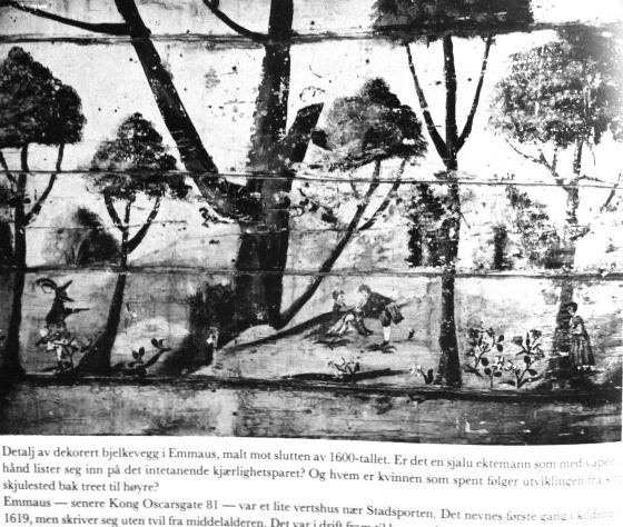Faksimile fra Bergen bys historie II av Anders Bjarne Fossen, Universitetsforlaget, 1979