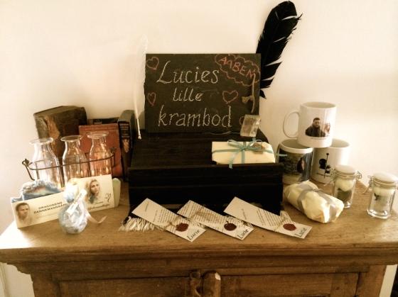 Noen av tingene som selges i Lucies lille krambod