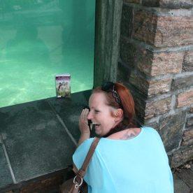 På Akvariet i Bergen med Kitty S. Taule