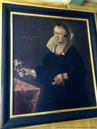 Karen Mauritsdatter, Strange Jørgensens datterdatter hadde ansvaret for fattighuset sammen med sin mann.