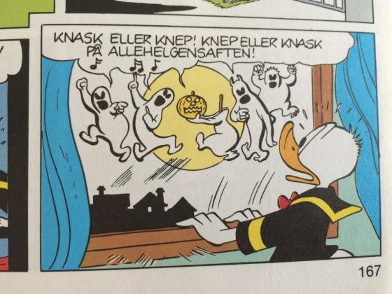 Allehelgensaften i Andeby (Fra boken: Donald Duck – Eventyrlig snadder)