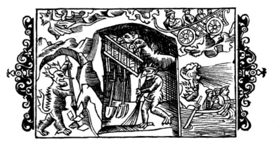 De usynlige veseners gjentjeneste (Olaus Magnus 1555)