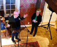 Foredrag ved historikerne Christopher John Harris og Gro E. Bastisnsen (Foto: Trappen Motiveringssenter)