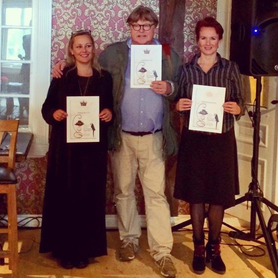 Fuglekongen Trond Blindheim med dronningene May Lis Ruus og Stine Kühle-Hansen