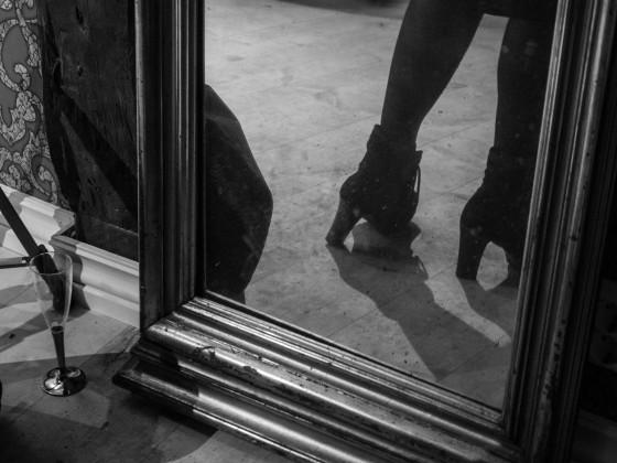 Sko i speil, av Vibeke Kristiansen Seldal