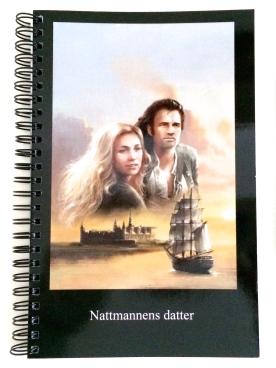"""Skrivebok """"Lucie og dragonen"""""""