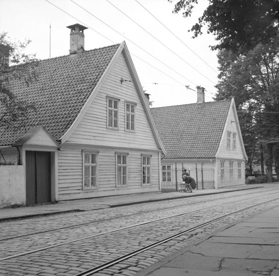 Zander Kaas Stiftelse mellom 1950-1965 (Foto: Gustav Brosing / UBB-BROS-01381)