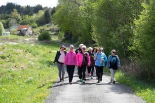 Kjerreveien til Hopsviken (Foto: Elizabeth Lee Grogan)