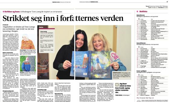 Faksimile fra Trønderavisa 28. oktober 2016
